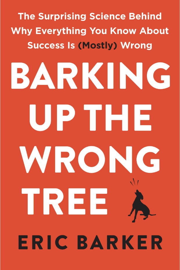 Barking up the wrong tree book